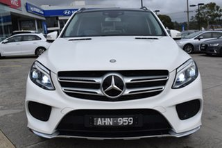 2016 Mercedes-Benz GLE-Class W166 GLE250 d 9G-Tronic 4MATIC White 9 Speed Sports Automatic Wagon.