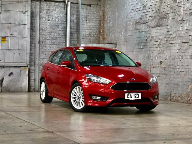 Used Ford Focus LZ Sport Mile End South, 2016 Ford Focus LZ Sport Red 6 Speed Manual Hatchback