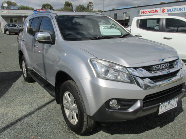 Used Isuzu MU-X MY15 LS-T Rev-Tronic Echuca, 2015 Isuzu MU-X MY15 LS-T Rev-Tronic Silver 5 Speed Sports Automatic Wagon