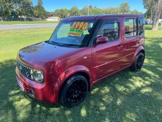 2006 Nissan Cube BZ11 Red 4 Speed Automatic Wagon.