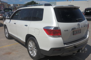 2012 Toyota Kluger GSU45R MY12 Grande AWD White 5 Speed Sports Automatic Wagon