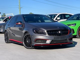 2014 Mercedes-Benz A-Class W176 A45 AMG SPEEDSHIFT DCT 4MATIC Grey 7 Speed.