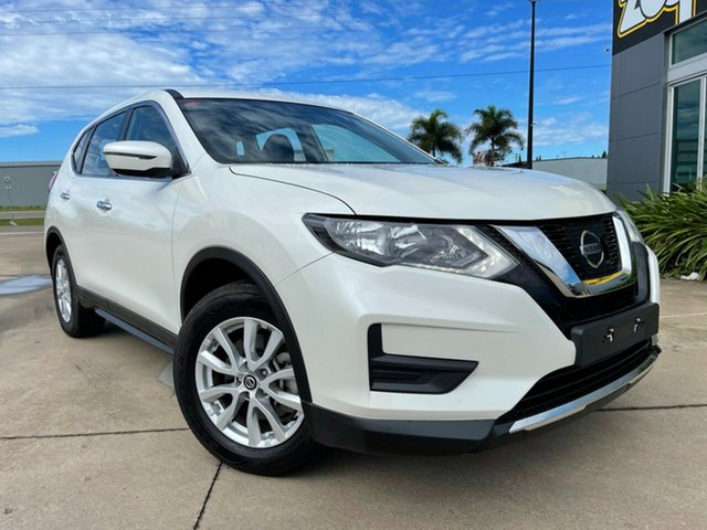 Used Nissan X-Trail T32 Series II ST X-tronic 2WD Townsville, 2019 Nissan X-Trail T32 Series II ST X-tronic 2WD White/010219 7 Speed Constant Variable Wagon