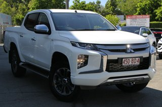 2021 Mitsubishi Triton MR MY21 GLX-R Double Cab White 6 Speed Sports Automatic Utility.