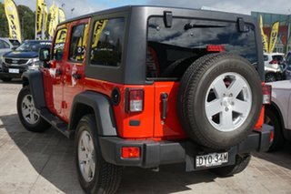 2018 Jeep Wrangler JK MY18 Unlimited Sport Red 6 Speed Manual Softtop