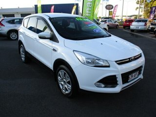 2015 Ford Kuga AMBIENTE White 6 Speed Automatic Wagon.