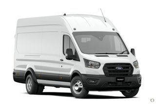 2020 Ford Transit 430e High Roof White 10 Speed Automatic Van.