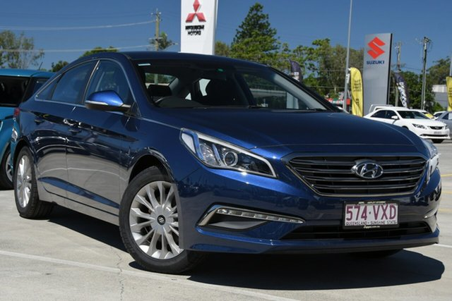 Used Hyundai Sonata LF Active Aspley, 2015 Hyundai Sonata LF Active Coast Blue 6 Speed Sports Automatic Sedan