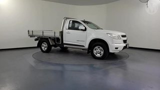 2016 Holden Colorado RG MY16 LS (4x4) White 6 Speed Manual Cab Chassis