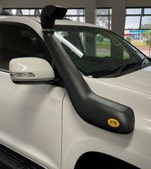 2018 Toyota Landcruiser Prado GDJ150R GXL White 6 Speed Manual Wagon
