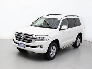 2020 Toyota Landcruiser VDJ200R LC200 GXL (4x4) White 6 Speed Automatic Wagon