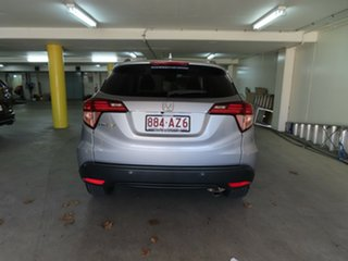 2017 Honda HR-V MY17 VTi-L Silver Continuous Variable Wagon.