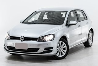2014 Volkswagen Golf VII MY14 90TSI DSG Comfortline Silver 7 Speed Sports Automatic Dual Clutch.