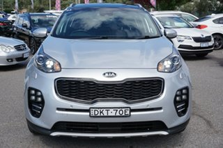 2016 Kia Sportage QL MY17 GT-Line AWD Silver 6 Speed Sports Automatic Wagon.