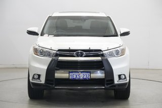 2015 Toyota Kluger GSU55R Grande AWD Pearl White 6 Speed Sports Automatic Wagon.