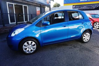 2009 Toyota Yaris NCP91R MY09 YRS Caribbean Blue 4 Speed Automatic Hatchback.