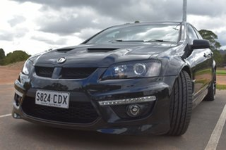 2012 Holden Special Vehicles ClubSport E Series 3 MY12 R8 Black 6 Speed Manual Sedan.