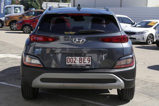 2020 Hyundai Kona Os.v4 MY21 2WD Dark Knight & Black Roof 8 Speed Constant Variable Wagon
