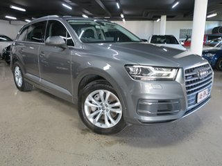 2016 Audi Q7 4M MY17 TDI Tiptronic Quattro Grey 8 Speed Sports Automatic Wagon
