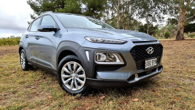 Used Hyundai Kona OS.2 MY19 Go 2WD Nuriootpa, 2018 Hyundai Kona OS.2 MY19 Go 2WD Grey 6 Speed Sports Automatic Wagon