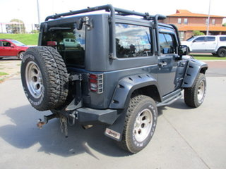 2008 Jeep Wrangler JK 2 Door Rubicon Blue 6 Speed Manual Hardtop
