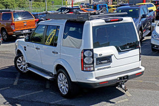 2015 Land Rover Discovery Series 4 L319 MY16 TDV6 White 8 Speed Sports Automatic Wagon.