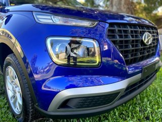 2021 Hyundai Venue QX.V3 MY21 Intense Blue 6 Speed Manual Wagon.