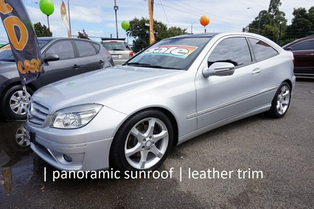 Used Mercedes-Benz CLC-Class CL203 CLC200 Kompressor Dandenong, 2010 Mercedes-Benz CLC-Class CL203 CLC200 Kompressor Iridium Silver 5 Speed Automatic Coupe
