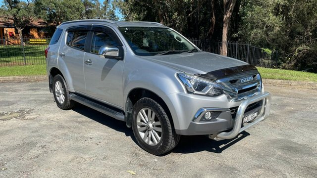 Used Isuzu MU-X MY18 LS-T Rev-Tronic 4x2 Port Macquarie, 2018 Isuzu MU-X MY18 LS-T Rev-Tronic 4x2 Silver 6 Speed Sports Automatic Wagon