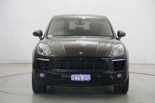 2015 Porsche Macan 95B MY15 S PDK AWD Diesel Brown 7 Speed Sports Automatic Dual Clutch Wagon.