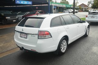 2013 Holden Commodore VF Evoke White 6 Speed Automatic Sportswagon.
