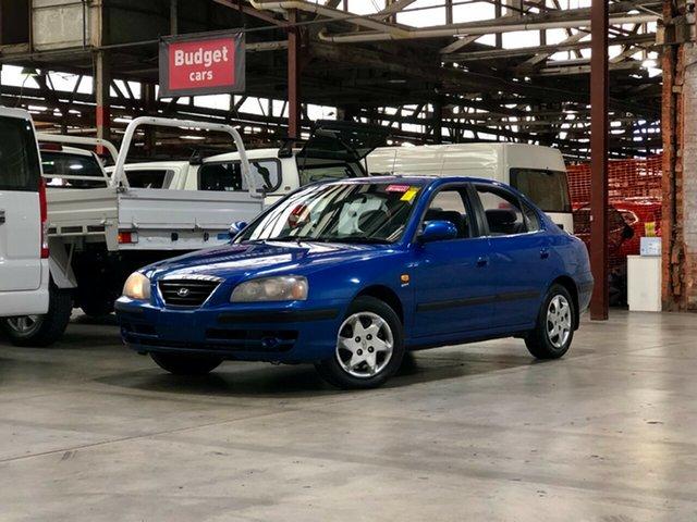 Used Hyundai Elantra XD MY05 Mile End South, 2005 Hyundai Elantra XD MY05 Blue 4 Speed Automatic Sedan