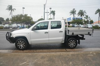 2015 Volkswagen Amarok 2H MY15 TDI420 (4x2) White 8 Speed Automatic Dual Cab Chassis