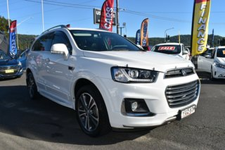 2017 Holden Captiva CG MY17 LTZ AWD White 6 Speed Sports Automatic Wagon.