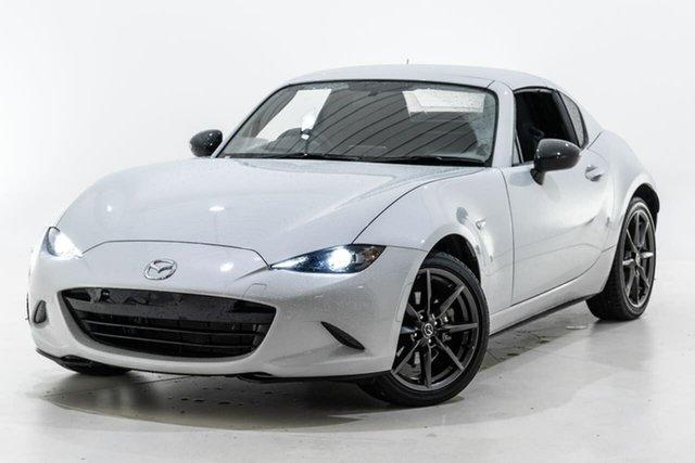 Used Mazda MX-5 ND SKYACTIV-Drive Berwick, 2017 Mazda MX-5 ND SKYACTIV-Drive White 6 Speed Sports Automatic Roadster