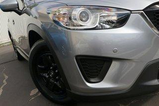 2014 Mazda CX-5 KE1071 MY14 Maxx SKYACTIV-Drive Silver 6 Speed Sports Automatic Wagon.