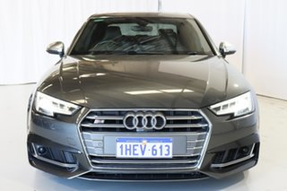 2017 Audi S4 B9 8W MY17 Tiptronic Quattro Grey 8 Speed Sports Automatic Sedan
