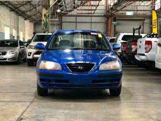 2005 Hyundai Elantra XD MY05 Blue 4 Speed Automatic Sedan.