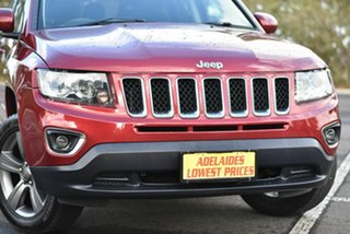 2015 Jeep Compass MK MY15 North CVT Auto Stick Red 6 Speed Constant Variable Wagon
