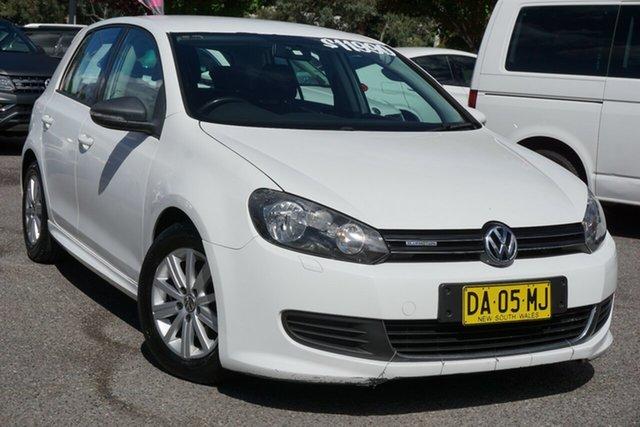 Used Volkswagen Golf VI MY11 BlueMOTION Phillip, 2011 Volkswagen Golf VI MY11 BlueMOTION White 5 Speed Manual Hatchback