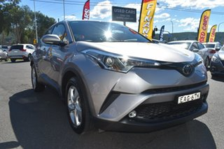 2018 Toyota C-HR NGX50R S-CVT AWD Grey 7 Speed Constant Variable Wagon.