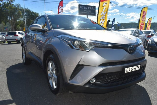 Used Toyota C-HR NGX50R S-CVT AWD Gosford, 2018 Toyota C-HR NGX50R S-CVT AWD Grey 7 Speed Constant Variable Wagon