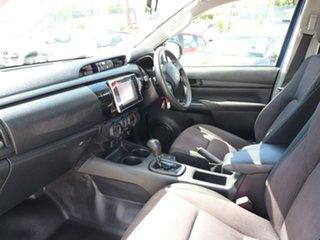 2018 Toyota Hilux GUN136R SR Double Cab 4x2 Hi-Rider Blue 6 Speed Sports Automatic Utility.
