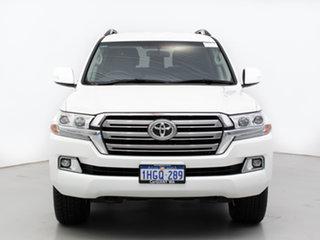 2020 Toyota Landcruiser VDJ200R LC200 GXL (4x4) White 6 Speed Automatic Wagon.