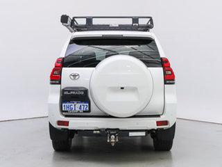 2018 Toyota Landcruiser Prado GDJ150R MY17 GXL (4x4) White 6 Speed Automatic Wagon