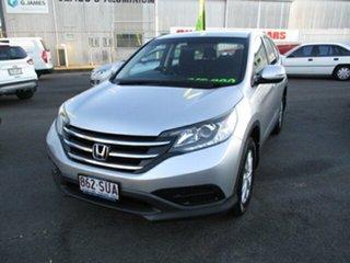 2012 Honda CR-V Silver 5 Speed Manual Wagon.