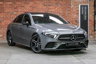 2019 Mercedes-Benz A-Class V177 A200 DCT Mountain Grey 7 Speed Sports Automatic Dual Clutch Sedan.