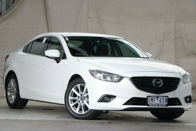 Used Mazda 6 6C MY17 (gl) Sport Altona North, 2017 Mazda 6 6C MY17 (gl) Sport Snowflake White 6 Speed Automatic Sedan