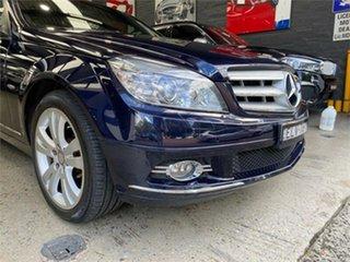 2007 Mercedes-Benz C-Class W204 C280 Avantgarde Tanzanite Blue Sports Automatic Sedan