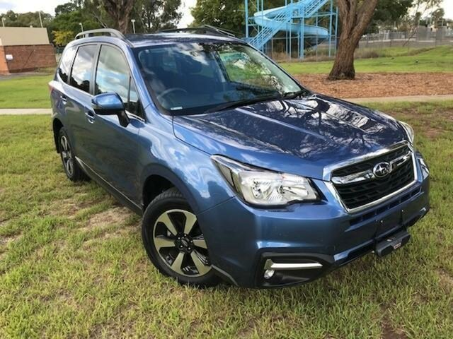 Used Subaru Forester MY18 2.5I-L Wangaratta, 2017 Subaru Forester MY18 2.5I-L Blue Continuous Variable Wagon